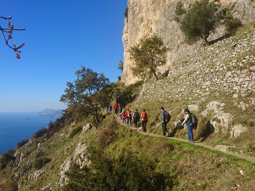 Trekking di Capodanno in Costiera Amalfitana